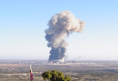 Big Spring Oil Refinery Explosion Pictures