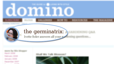 Read all about gardening on the germinatrix blog.