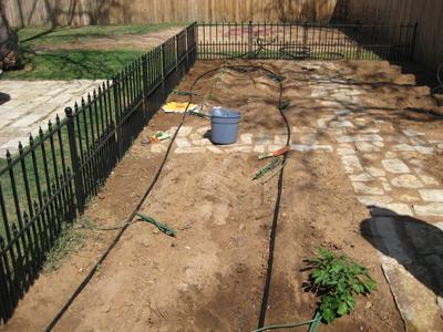 Misting Irrigation System Installation