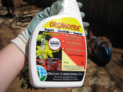 Organocide - Organic insecticide & fungicide.
