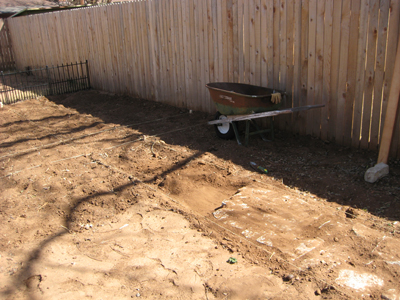 Stone laid in our garden for walkway.  Design your own walkway.