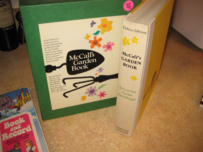 McCall's Gardening book from the 60's.