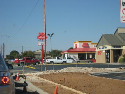 1 Hour in line at wienerschnitzel in odessa texas.